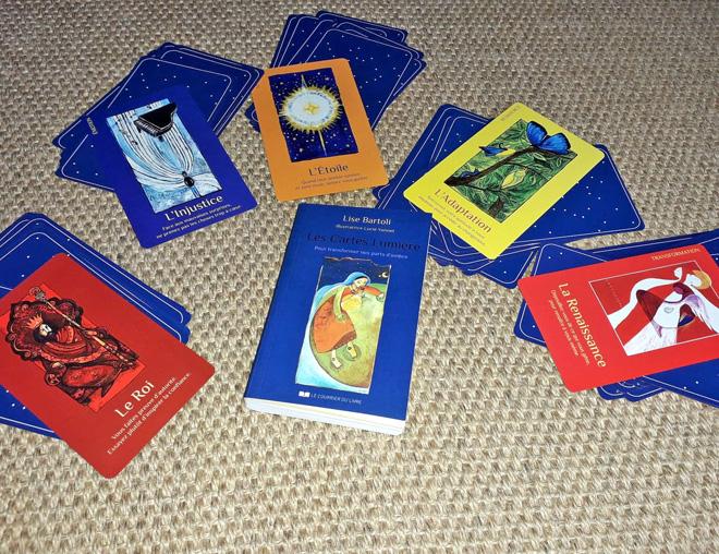 Les Cartes lumières de Lise Bartoli